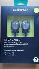Soundstream SVGA Cable cabezas SVGA 3M12 Enchapado en Oro 3M