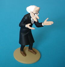 FIGURINE COLLECTION OFFICIELLE TINTIN N°52 PROFESSEUR CALYS + LIVRET PASSEPORT