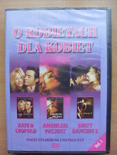 3 x DVD Kate & Leopold / Angielski Pacjent / Dirty Dancing 2 [ Factory Sealed ]