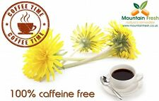 Dandelion Root Ground Coffee 100% Caffeine FREE 100g