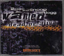 2 Pac and Snoop Doggy Dogg-Wanted Dead Or Alive cd maxi single