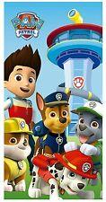Nickelodeon PAW PATROL Handtuch Kinder Duschtuch Badetuch Strandtuch Hunde