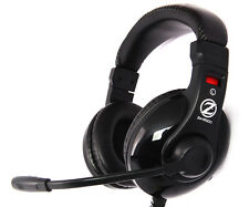 Zalman ZM-HPS200 gaming headset, 40mm, conducteur contrôle volume, dual 3.5mm