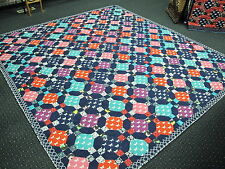 Authentic Amish Handmade Queen/King Quilt 99 x 110 Signed/Dated, Baltic, Ohio