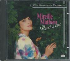 MIREILLE MATHIEU - Rendezvous CD Album 16TR (ARIOLA) 1984 Germany RARE!