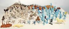Vintage MARX BATTLE OF THE BLUE AND GRAY Civil War Playset 1950's fast ship