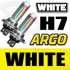 H7 RAINBOW WHITE 55W HALOGEN XENON HIGH MAIN FULL BEAM HID HEADLIGHT BULBS