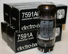 Matched Quads Electro Harmonix 7591 7591A amp tubes, NEW