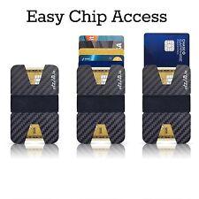 Slim Wallets for Men Carbon Fiber RFID Blocking Wallet Credit Card Holder Mens