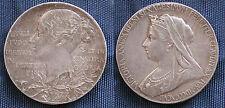 MONETA COIN MEDAL MEDAILLE JUBILEE 1837-- 1897 QUEEN VICTORIA GIUBILEO REGNO