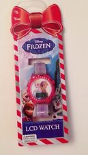 Disney Frozen Anna & Elsa  Digital LCD Wrist Watch Toy