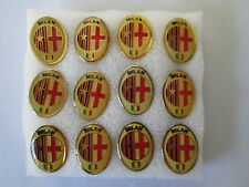 lotto 12 pins lot AC MILAN FC club spilla football calcio pins broches spille