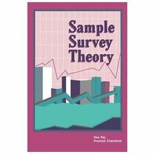 Sample Survey Theory by Des Raj (2013, Paperback)