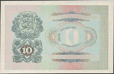 Estonia , 10 Krooni , ND. 1940 , P 68p1 , back proof in full color , Cat.$500.00