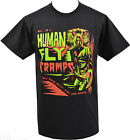 MENS BLACK T-SHIRT THE CRAMPS HUMAN FLY GARAGE PSYCHOBILLY HORROR LUX S-5XL
