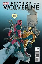 DEATH OF WOLVERINE 1 RARE DEADPOOL PARTY FERRY COLOR VARIANT NM