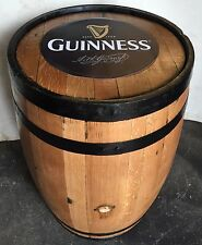 Refurbished Guinness Branded Solid Oak Whisky Barrel | Garden Furniture