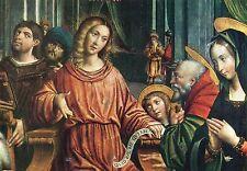 Alte Kunstpostkarte - Defedente Ferrari - Der zwölfjährige Jesus im Tempel