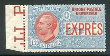 1922 Italia Regno Espresso 1,20 bordo cert. Bolaffi SPL MNH **