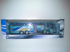 2 x SCANIA IRIZAR PB 1:50 CARARAMA. NEW IN BOX.