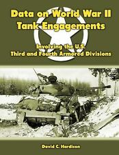 Data on World War II Tank Engagements : Involving the U. S. Third and Fourth...
