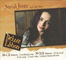 NORAH JONES Feels Like Home CD Deluxe Edition w DVD 5.1 Surround New Sealed