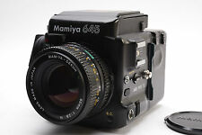 [excellent] Mamiya 645 Pro TL body 80mm F2.8 N 120 Film Back from Japan