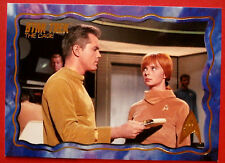 """STAR TREK TOS 50th Anniversary - """"THE CAGE"""" - GOLD FOIL Chase Card #69"""