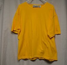 Womens Shirt Size L By Cherry Stix Yellow Pull Over Short Sleeve Tee