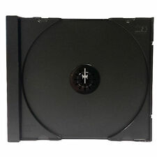 50 x CD Black Tray Rigid Plastic to fit CD Outer