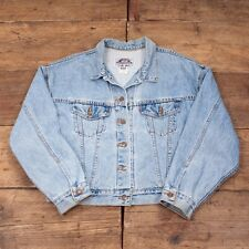 Vintage 1980s Levis Red Tab Denim Jacket Stonewash Blue Womens M / Size 12 R2980