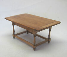 "Artisan Miniature 1"" Scale Tavern table rectangular cherry finish"