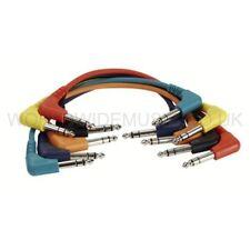 6 Stereo Patch Lead / cavi con angolo retto Jack Spine - 90 cm Long-fl4290
