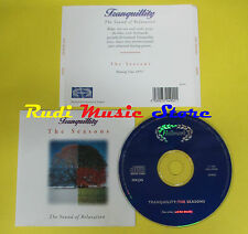 CD TRANQUILLITY THE SOUND OF RELAXATION compilation (C10) no lp mc dvd vhs