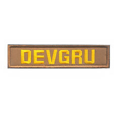 DEVGRU BADGE ARMY CURRENT MILITARY EMBROIDERY MORALE SWAT VELCRO PATCH