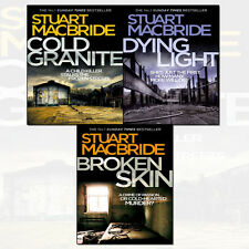 Logan McRae Series 1-3 Stuart MacBride Collection 3 Books With Journal Set NEW