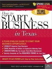 Start a Business in Texas (Legal Survival Guides) by Truly, Traci, Warda, Mark