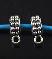 40pcs Bails Connectors Holder Clasp Fit 4mm DIY Necklace European Findings