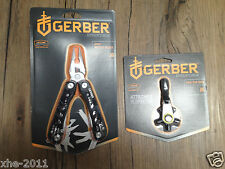 Gerber Evo Multi Tool Pliers Knife Saw Scissors Screwdriver & GDC ZIP Hex Tool