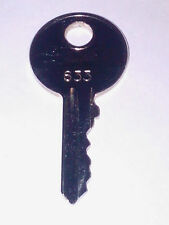 LINDE 633 FORKLIFT KEY CUT TO CODE, PROFESSIONAL KEYSMITH SERVICE!!