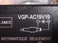 NEW Genuine Original OEM SONY 76W 19.5V 3.9A AC Adapter Charger VGP-AC19V19