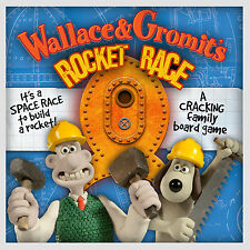 WALLACE & GROMIT'S ROCKET RACE FAMILY BOARD GAME BRAND NEW SEALED! AGE 8+ 2013