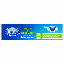 Optrex Infected Eyes Eye Ointment 4g bacterial conjunctivitis Pinkeye