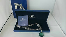 Genuine Swarovski Emerald Crystal necklace RRP£200 birthday wedding Christmas