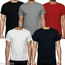 Mens Gaffer 2, 5, 7& 10 lot Multi Pack Plain Basic Cotton Casual T- Shirt Top