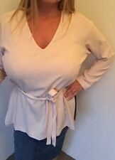 M&S Blush Pink Japanese Garden Tunic Top Size 12
