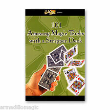101 Magic Tricks With A Stripper Deck Book - Learn New Tricks