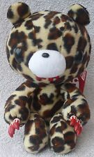 Official Chax GP TAITO Gloomy Bear Sitting Leopard Soft Plush Toy Japan Kawaii 9
