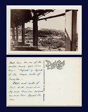 MILITARY US MARINES POST WORLD WAR II TOPSIDE BARRACKS AT CORREGIDOR REAL PHOTO