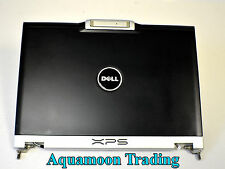 DELL XPS M1210 Display Back Cover Top Panel Case W/Hinges Antenna LCD LID YH663